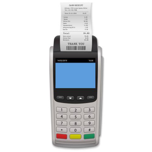 Papierrollen für EC Cash